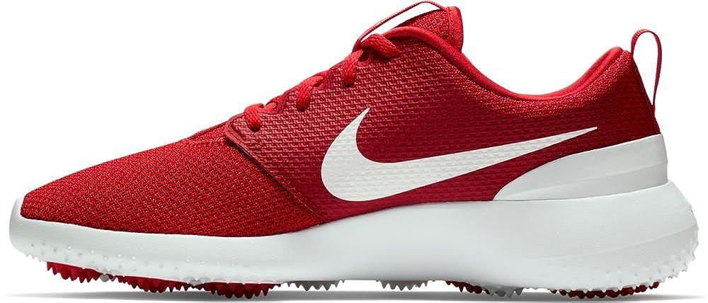 timeless design 0c065 5f2d6 Amazon.com   Nike Men s Roshe G Golf Shoes, University Red White, 9 M US    Golf