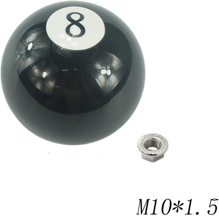 codinex (TM) negro 8 bolas de billar 57 mm acrílico coche Racing ...