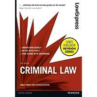 Criminal Law: Uk Edition