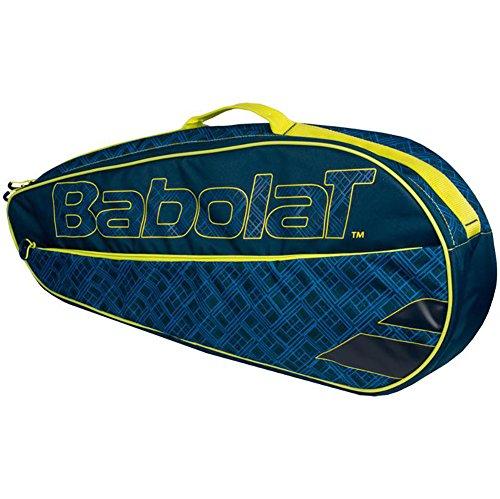Babolat Racquet Holder (Babolat Club Line X3 Racquet Holder Blue/Yellow)