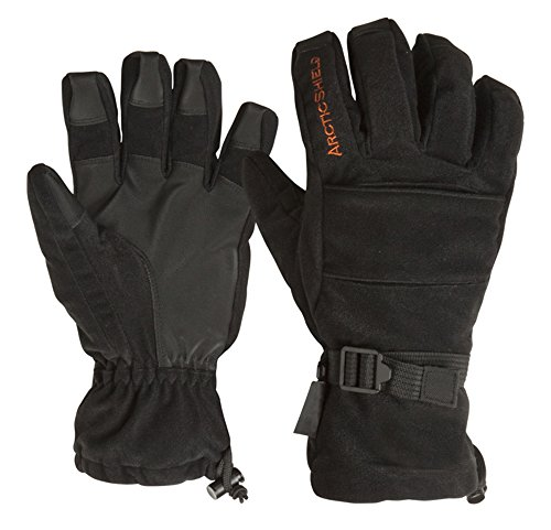 Onyx-Arctic Shield-X-System Men's Arcticshield Lined Camp Gloves (Black, Large)