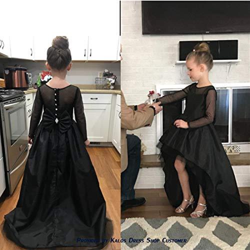 8e4ee3884895 Kalos Dress Shop Hi-Low Flower Girl Dress First Communion Dress with ...
