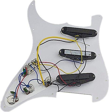 Guitarra eléctrica SSS para guitarra Strat accesorios de repuesto ...
