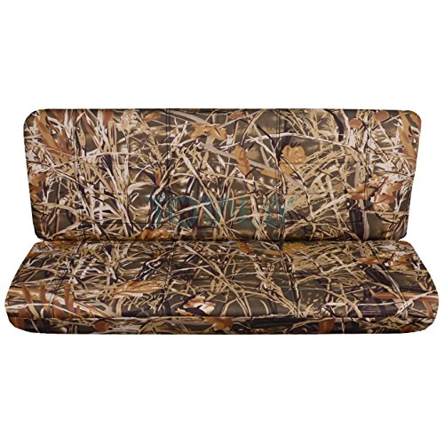 (Totally Covers Fits 1997-2003 Ford F-150 Super Cab Camo Truck Seat Covers (Rear 40/60 Split Bench): Wetland Camouflage (16 Prints) 1998 1999 2000 2001 2002 F-Series Extended F150 Back)