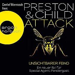 Attack: Unsichtbarer Feind (Pendergast 13)