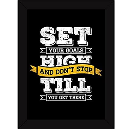 inspirational frames for office fatmug synthetic set high goals inspirational posters quotes hangings with frames for home room decor and