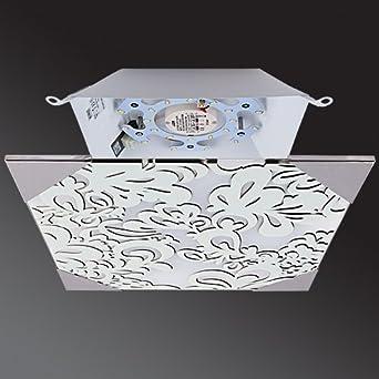 Lu MiR LED Deckenleuchte Wohnzimmer Deckenlampe Glas Kche Schlafzimmer Modern Leuchte Flora Kvader