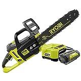 Ryobi ZRRY40511 40V Cordless Li-Ion Chainsaw Kit Certified...