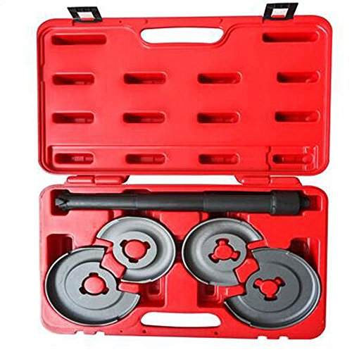 MILLION PARTS 5Pcs Suspension Coil Spring Compressor Strut Tool Kit for Mercedes Benz -