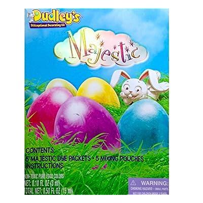 Dudleys Eggceptional Decorating Kit Majestic Egg Dye Kit Easter 2015: Toys & Games