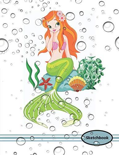 Sketchbook: Bubble Me Mermaid Doodle Sketchpad -