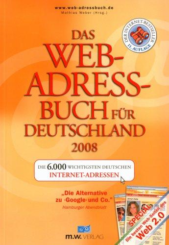 Das Web-Adressbuch für Deutschland 2008