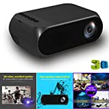 Ikevan YG320 Projector Mini Home Theater Cinema TV Portable LED Projector 1080P HDMI/USB/SD/AV (White)