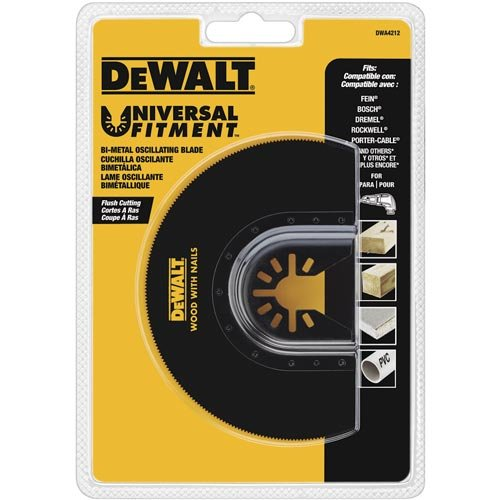 DEWALT Dwa4212 Oscillating Flush Cut Blade ()