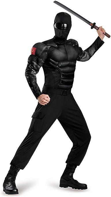 Amazon.com: Disfraz de los hombres serpiente ojos Classic ...