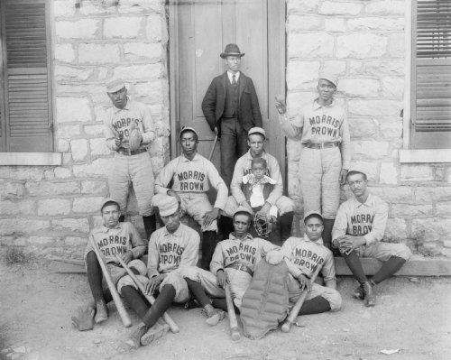 1899 African American baseball players photo Vintage Black & White Photograph e5