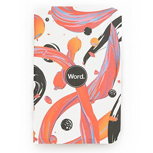 Word. Notebooks Artist - Velvet Spectrum (3-pack)