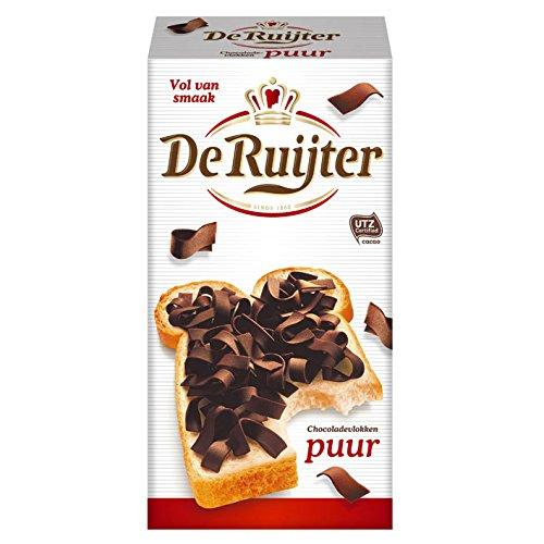 De Rujiter Chocolate Flakes Dark 10.5-Ounce Box Dark Chocolate Flake