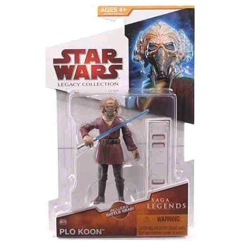 Hasbro Plo Koon Saga Legends SL13 Legacy Collection Star Wars Action -