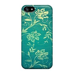 For LastMemory Iphone Protective Case, High Quality For Iphone 5/5s Pattern Victorian Wall Skin Case Cover
