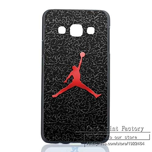 (1 piece Air Jordan Michael Basketball NBA Case Cover for Samsung Galaxy A3 A5 A7 A8 J1 J5 J7 Note 2 3 4 5 Sports Brand Jordan Logo Shell)