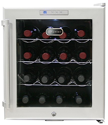 Whynter SNO 16-Bottle Wine Refrigerator Silver WC-16S