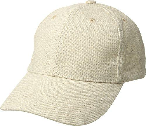 Hat Attack Women's Linen Baseball Cap Natural One Size