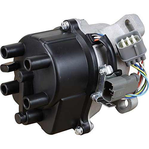 AIP Electronics Complete Premium Electronic Ignition Distributor Compatible Replacement For 1992-1995 Honda Civic 1.5L SOHC VTEC TD-42U 30100-P08-006 31-17404 OBD1 Oem Fit DTD42