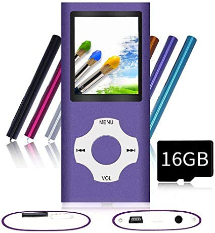 Mp3 Mp4 Music Player Portable LCD Screen Micro SDHC SD TF Card Jogging Gym