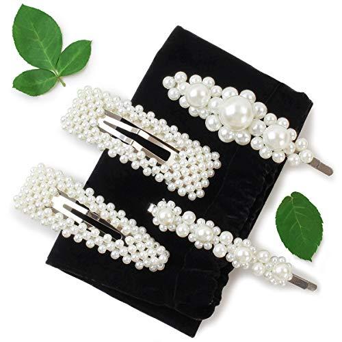 bb1102037cfd Pasadores para Cabello con Perlas para Mujer
