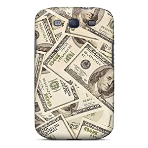 Galaxy S3 Case, Premium Protective Case With Awesome Look - Benjamins