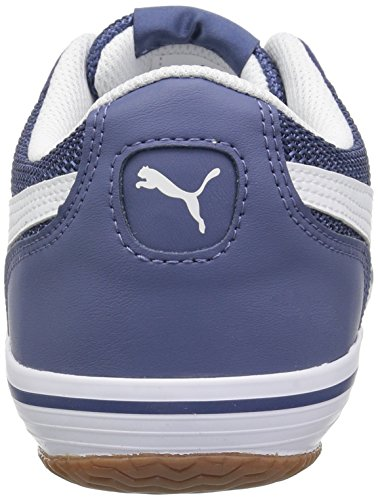 Puma Menns Astro Sala Sneaker Blå Indigo-puma Hvit