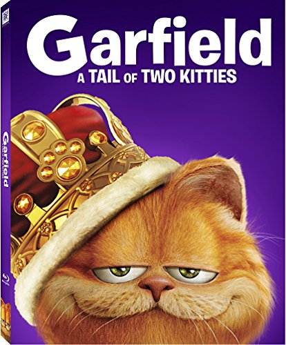 Garfield: A Tail of Two Kitties Blu-ray w/ Family Icons Oring