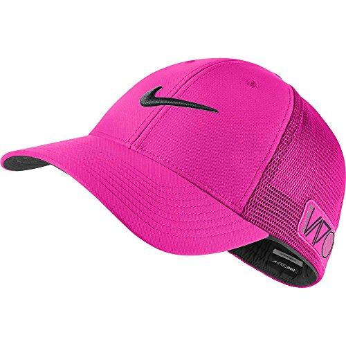 2015 NIKE Golf Tour Legacy VAPOR/RZN Mesh Fitted Cap COLOR: Pink Pow SIZE: M/L