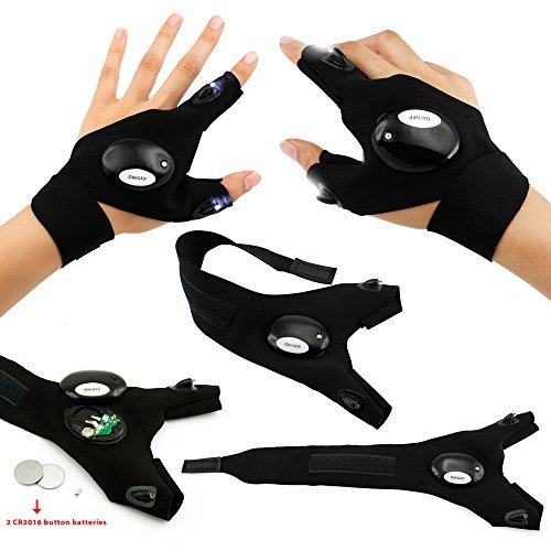 Cycling Gloves Led Lights