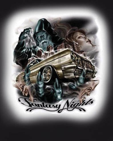 Fantasy Night Lowrider Poster Print