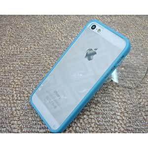 LCJ The Silica Gel Protective Sleeve TPU Transparent Backboard for IPhone5/5S(Assorted Color) , Red by icecream design