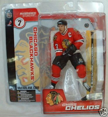 Mcfarlane Toys NHL Sports Picks Series 7 Chris Chelios Blackhawks Variant Action ()