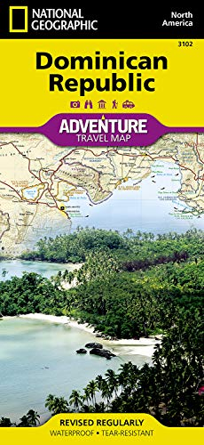 Dominican Republic (National Geographic Adventure Map) - Dominican Republic Map