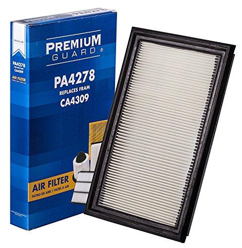 (PG PA4278 Air Filter | Fits 2003-08 Infiniti FX35, 1991-02 G20, 2003-07 G35, 2002-04 I35, 2013 JX35, 1990-92 M30, 1997-03 QX4, 2019 QX60, 2002-19 Nissan Maxima, 2003-19 Murano, 2001-19 Pathfinder )
