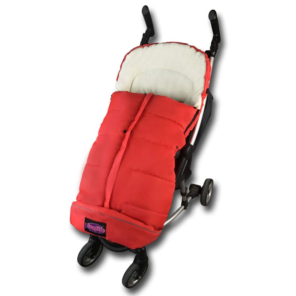 Premium Quality Baby Cozy Footmuff Fits for Most of Strollers, Jogger Extendable Bunging Bag, Opening Adjustable can Convert to Warm Baby Blanket FJO