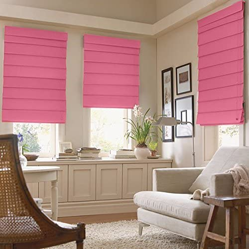 JCPenney Home Decorative Savannah Roman Shade 29″ X 64″ Maui Pink