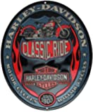 Harley ® Classic Ride Oval Tin Sign