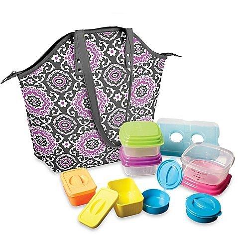 fit-fresh-davenport-14-piece-portion-control-lunch-set-w-davenport-insulated-chiller-bag