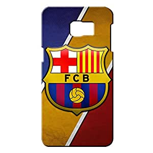 Popular Design FC FC Barcelona Team Logo Phone Case Cover For Samsung Galaxy S6edge&plus 3D Plastic Phone Case