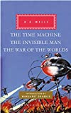 Image of The Time Machine, The Invisible Man, The War of the Worlds (Everyman's Library)