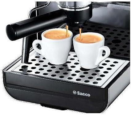 Saeco Via Venezia Espresso, Negro, Plata, 950 W, 230 V, 50 Hz, 230 x 300 x 330 mm, 7400 g - Máquina de café: Amazon.es: Hogar