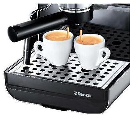Saeco Via Venezia Espresso, Negro, Plata, 950 W, 230 V, 50 Hz, 230 x 300 x 330 mm, 7400 g - Máquina de café