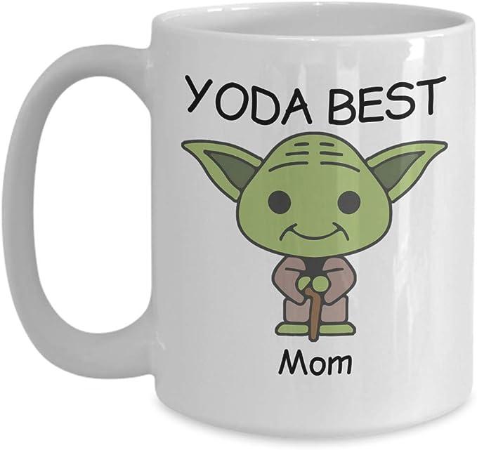 Yoda best Mum coffee mug Mothers Day gift birthday