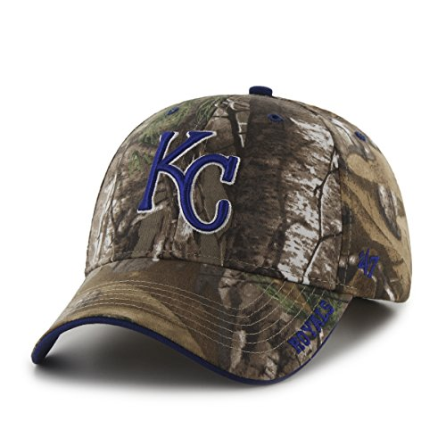 True Fit Camo (MLB Kansas City Royals '47 Frost MVP Camo Adjustable Hat, One Size Fits Most, Realtree Camouflage)